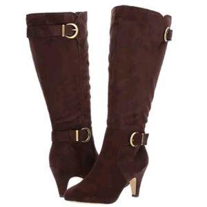 Bella Vita Heeled Boots Suede Brown Toni II